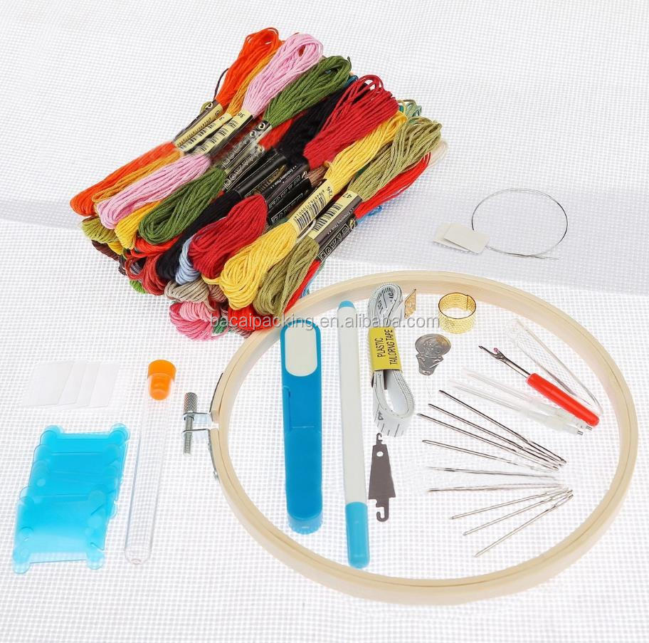 New Embroidery Needle Russian Embroidery Needle Poke Le Set Cross Stitch Tool Set Wholesale Embroidery Thread