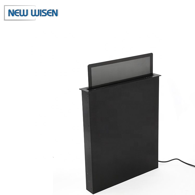 15.6 inch HD screen gemotoriseerde tv lift audio conference system monitor lift voor conference system