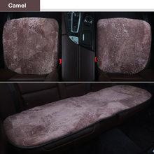 Овечьи кашемировые чехлы для автомобильных сидений для toyota corolla rav4 chr mini cooper mini fridge smart fortwo chrysler 300c автомобильные аксессуары(Китай)