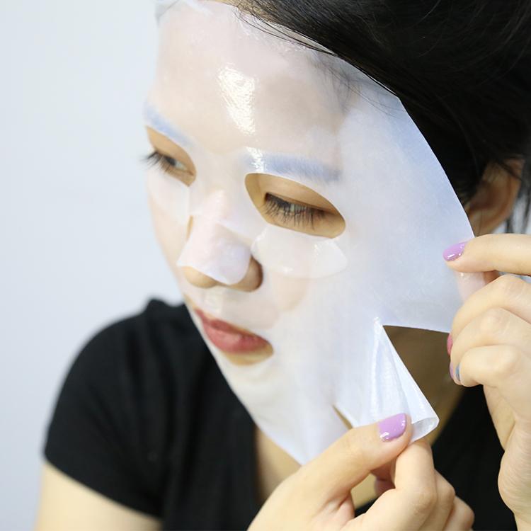 Korean Moisturizer Biological Cellulose Facial Mask Disposable Face Mask Sheet Whitening Bio Cellulose Mask