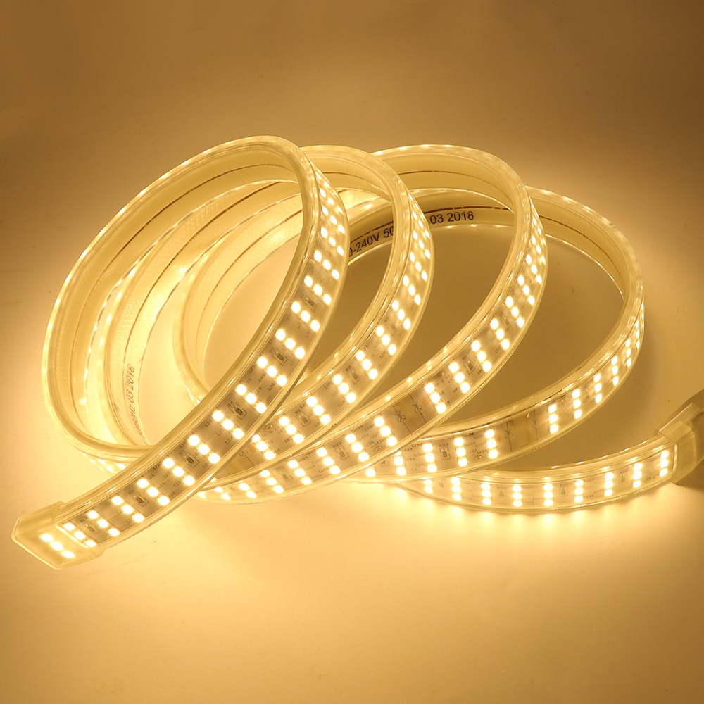 Best quality best sell SMD3528 60D 50M/roll flexible 220v led strip
