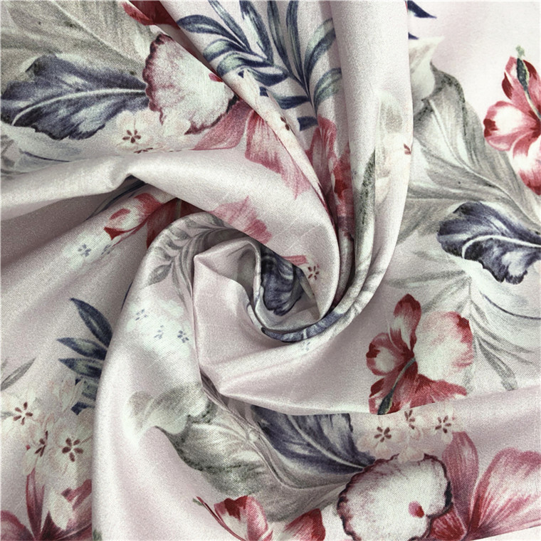 FY 2017 Hot sale Custom Digital Printed Butterfly Polyester Fiber Fabric