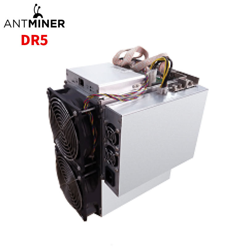 2020 Stocks Antminer DR5 34Th  Bitmain Blake256R14 algorithm 1800W High Profit mining