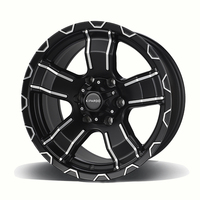 factory price 16 17 inch 6 hole offroad 4x4 alloy wheel rim with pcd 139.7