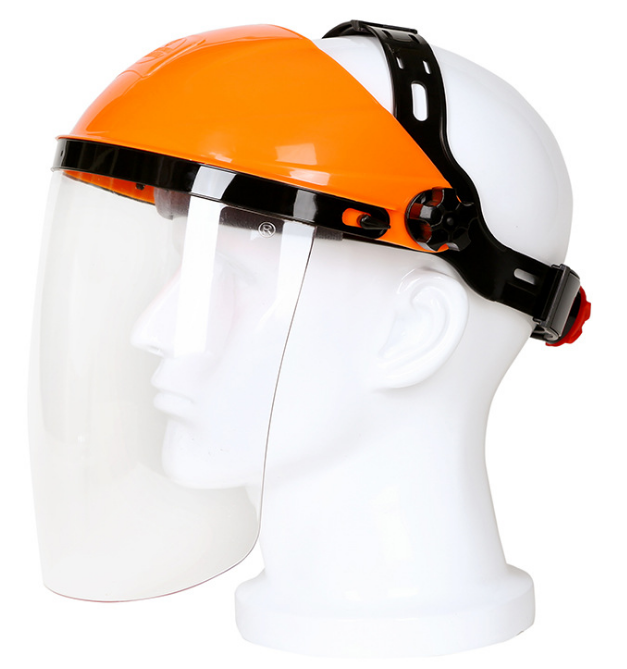 Anti-splash and Anti-dust Protector pc Facial Adjustable Face Shield
