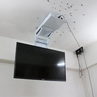 32 42 Tv Lcd Tv Lift Factory Remote Control Smart 32 42 46 55 60 70 Inch 3D LCD TV Ceiling Lift Hanger Electric Tv Rotating