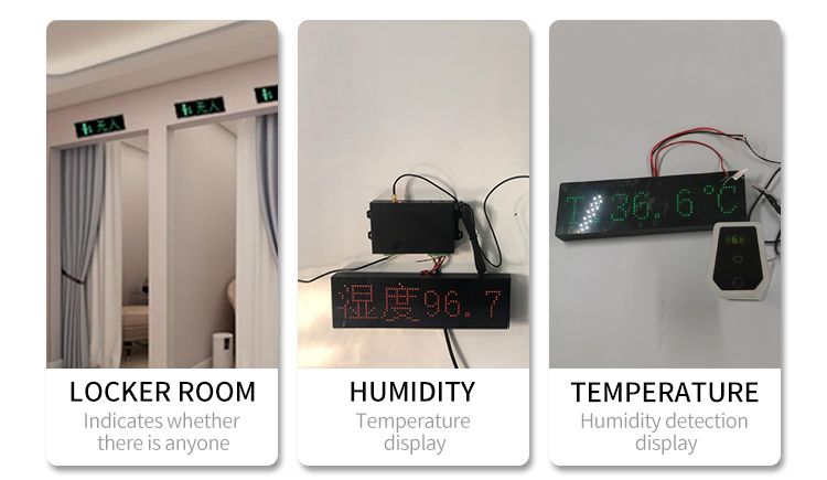 Timing digital Zigbee display