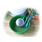 Portable Mini Hand Garden Plant Seed Sower Planter Green Dispenser Seeder Tool set