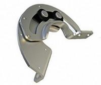 XK553-304 Semi-circular stainless steel sliding hinge 90 degree revolving door hinge with hidden mounting limit hinge R6