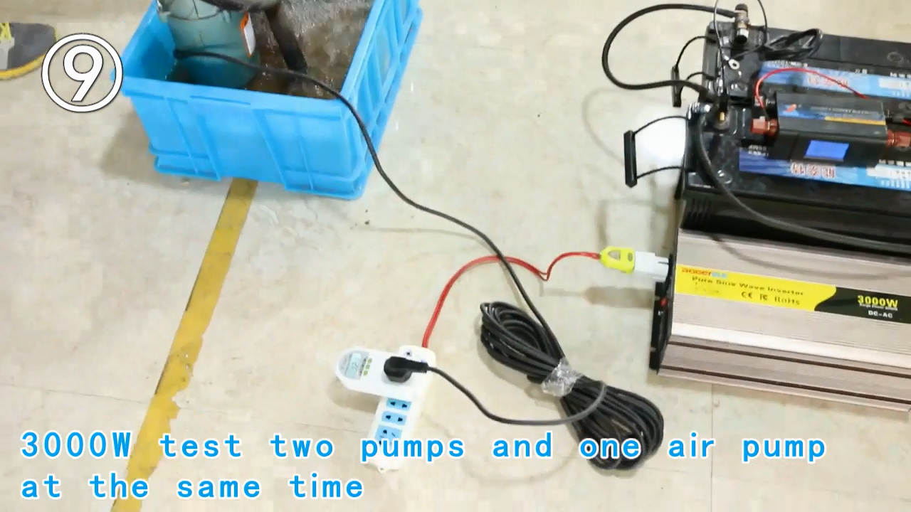 Inverter Tenaga Surya, 3000 W/3kw 3000 WATT 12V/24V/48V DC Ke AC 110V/120V/220V/230V Inverter Daya Tenaga Surya Gelombang Sinus Murni