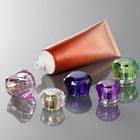cosmetic packing manufacturer,acrylic screw cap for cosmetic tube,screw diamond acrylic cap