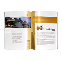 Luxury kids sceneries brochure design business catalogue printing for LED LCD