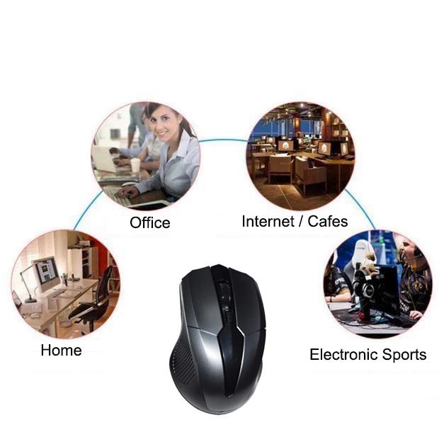2020 कंप्यूटर वायरलेस माउस ऑप्टिकल Ergonomic यूएसबी 2.4G के लिए Minnie माउस पीसी/लैपटॉप