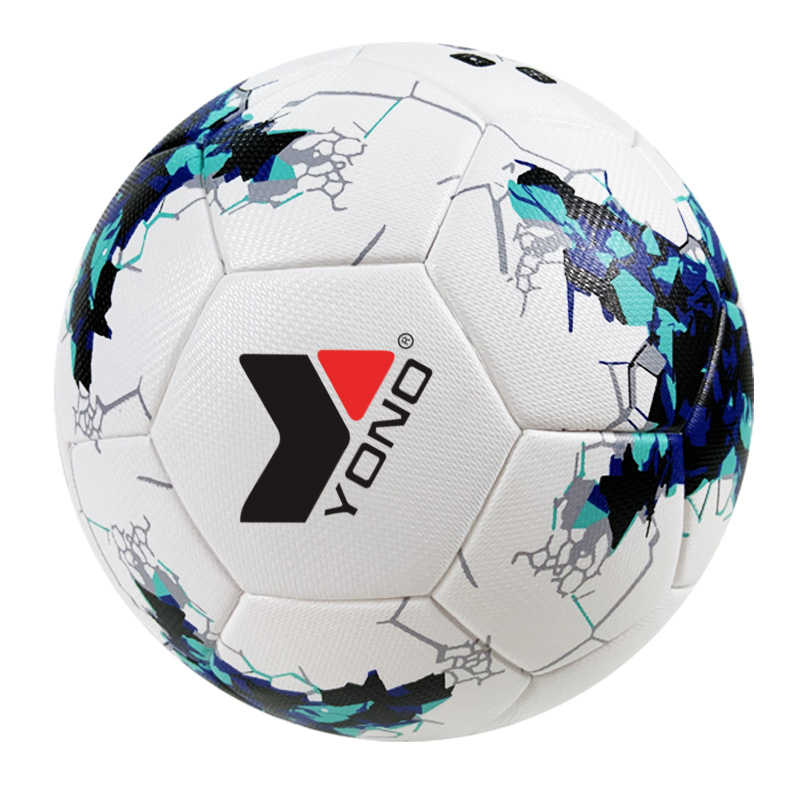 customize <strong>football</strong> ball PU thermal bonded soccer ball size 5 standard for match/train