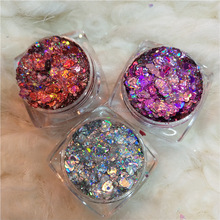 50 Jelly Eye Shadow Krim Gel Brightening Cahaya Tinggi Glitter Eyeshadow Cair Eye Shadow <span class=keywords><strong>Kosmetik</strong></span> Kecantikan