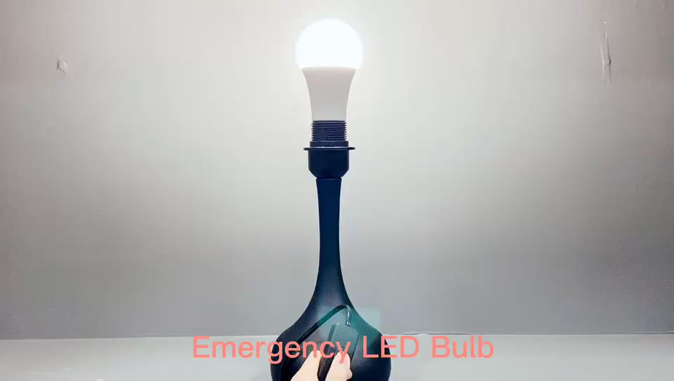 उच्च चमक A19 E27 E26 B22 आपातकालीन एलईडी बल्ब प्रकाश 7 W 9 W 12 W दीपक चीन में बनाया