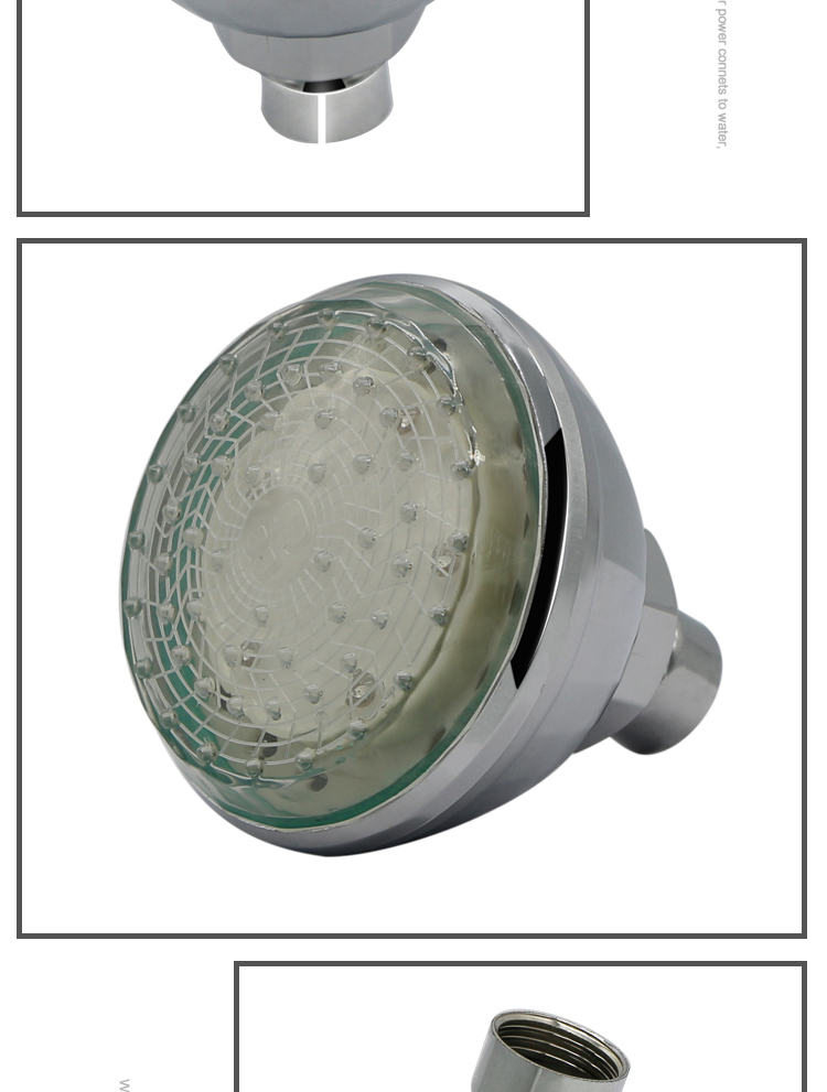 Bathroom faucet type remove shower head color changing led shower