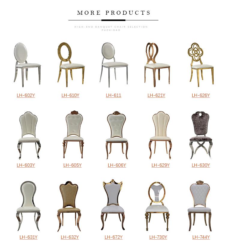 Novo Design De Alta Volta Cadeira De Jantar Com Almofada