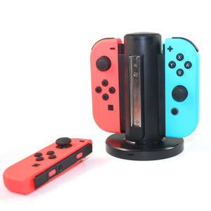 Hot Sale 4 in 1 rechargeable battery Docking Console Charging wireless for Nintendo Switch