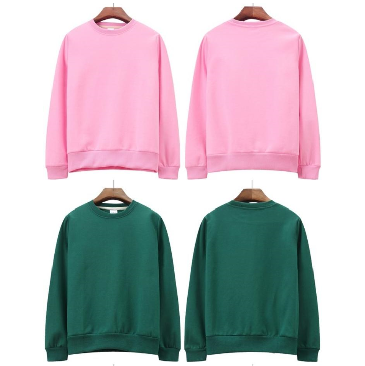 Cheep Custom Pink Green  print erkek  Plain White striped  Pullover cotton hoodies Sweatshirt Women Blank Hoodies