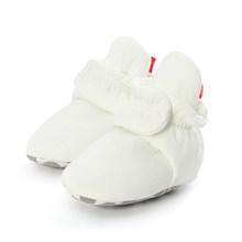 1 пара Детские носки обувь со звездами для мальчиков и девочек, для детей ясельного возраста, для тех, кто только начинает ходить, для новорож...(China)