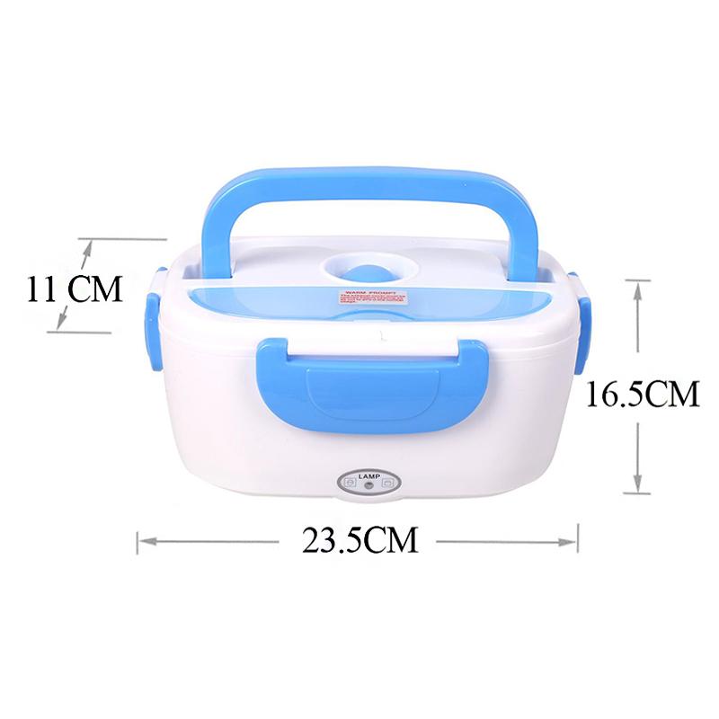 車およびオフィスのための二重目的の電気加熱された弁当箱、家の携帯用熱い弁当箱