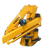 2 ton small floating crane with 2 straight arm for sale of China