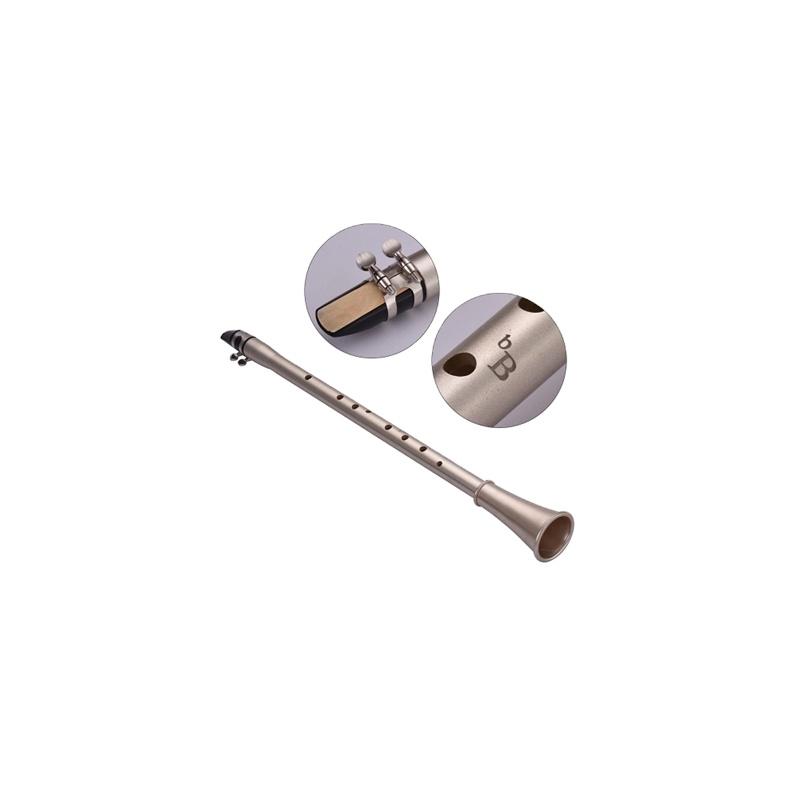 Tragbare Wenig Sax Mini Sax Saxophon Alto Tasche B ton 11 loch