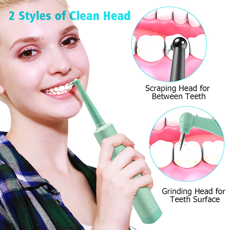 New Generation Handheld Electric Sonic Dental Calculus Remover Tooth Scraper Tartar Remover