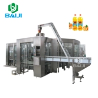 Hot sale fruit juice hot filling processing equipment / 4 in 1 coconut water making machine / bottling production line