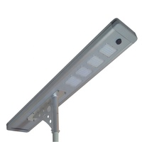 Wonderful High Lumen Integrated All In One Solar 100W Led Garden Street Light