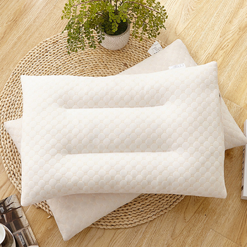 Standard size breathable sleep well memory foam pillow