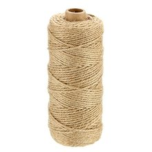 Atacado 100% natural <span class=keywords><strong>cor</strong></span> juta guita 2ply 1mm