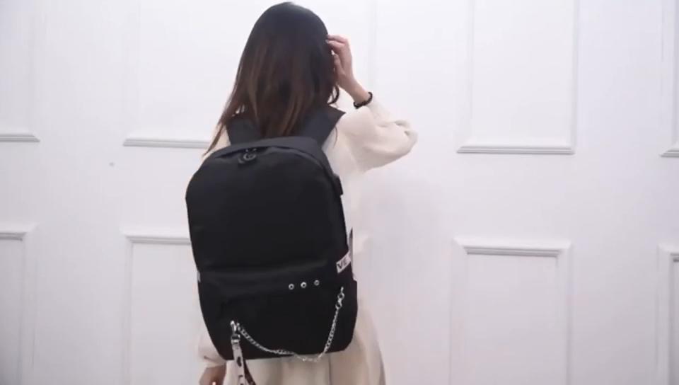 अमेज़न गर्म बिक्री अनुकूलित कॉलेज की लड़कियों Kpop बैग स्कूल बैग Mochilas छात्र Backpacks