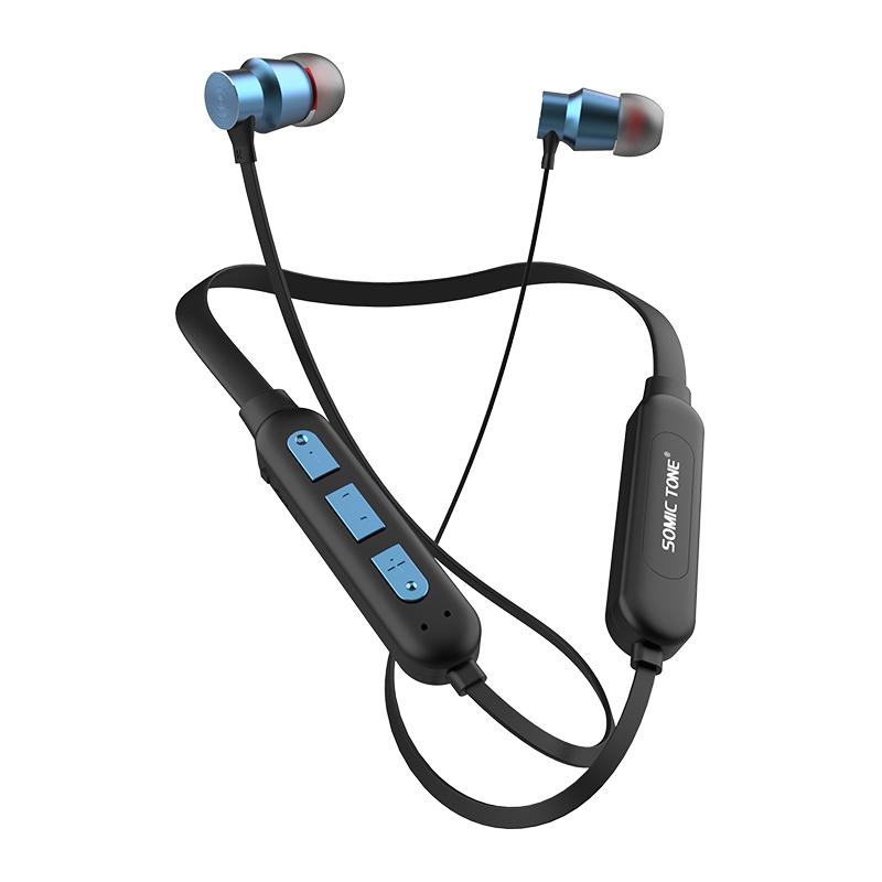 Sports Sem Fio Bluetooth in-Ear Fones De Ouvido/Fones de Ouvido Mãos Livres Chamadas Pura Baixo Som Fones de Ouvido Bluetooth Sem Fio