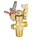 Carbon dioxide CO2 fire cylinder valve for ship fire suppression system