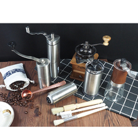 Commercial espresso grinder mini stainless steel coffee grinder, High Performance on demand 160ml coffee grinder ceramic