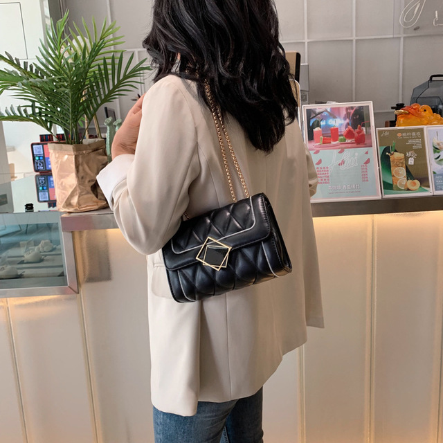 product-Osgoodway-Osgooway2 small square women quilted PU leather phone shoulder crossbody bag fashi-3