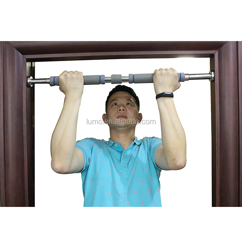 Telaio della porta Pull Up Bar Porta A Casa di Fitness Portatile di Pull-Up Bar Chin Up Bar Grips Heavy Duty Facile Palestra Lite impugnature di Comfort
