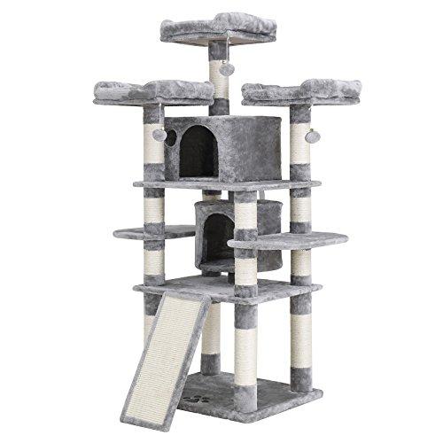 מפעל ידידותי לסביבה מעודן חתול והגרד עץ בית