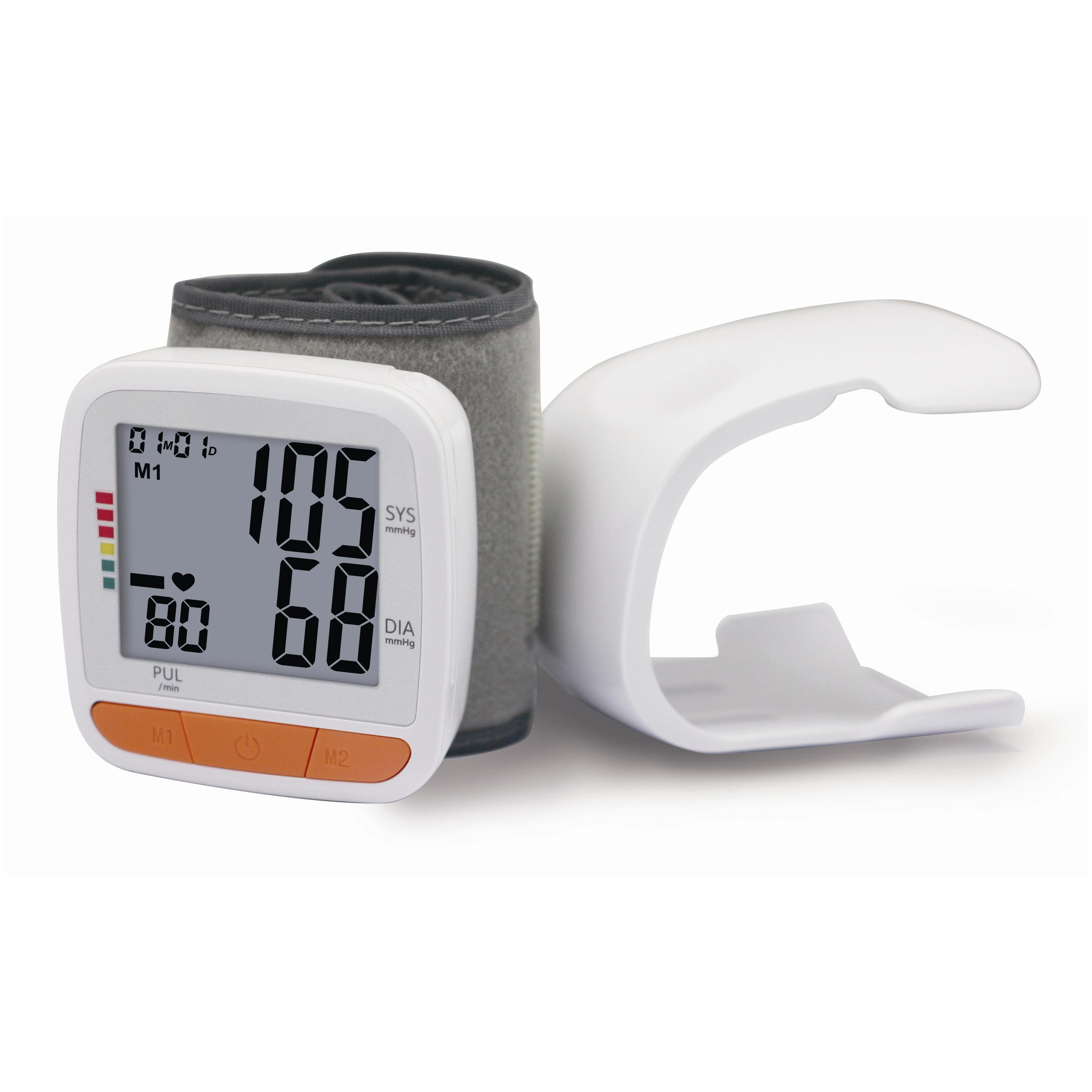 디지털 손목 시계 bp 혈압 모니터 미터 혈압계 tensiometro