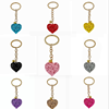 hollow out heart  keychains