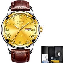 Женские наручные часы LIGE, золотисто-синие кварцевые часы от ведущего бренда, роскошные часы для девушек, Relogio Feminino + коробка(China)