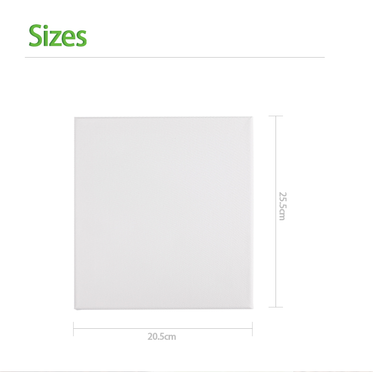 BLOT 20*25cm Canvas Frame Panel Blank Artist Paintings Stretched Canvas With Wooden Wedges