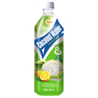 1L Large capacity bottle fresh coconut water juice of lemon flavor