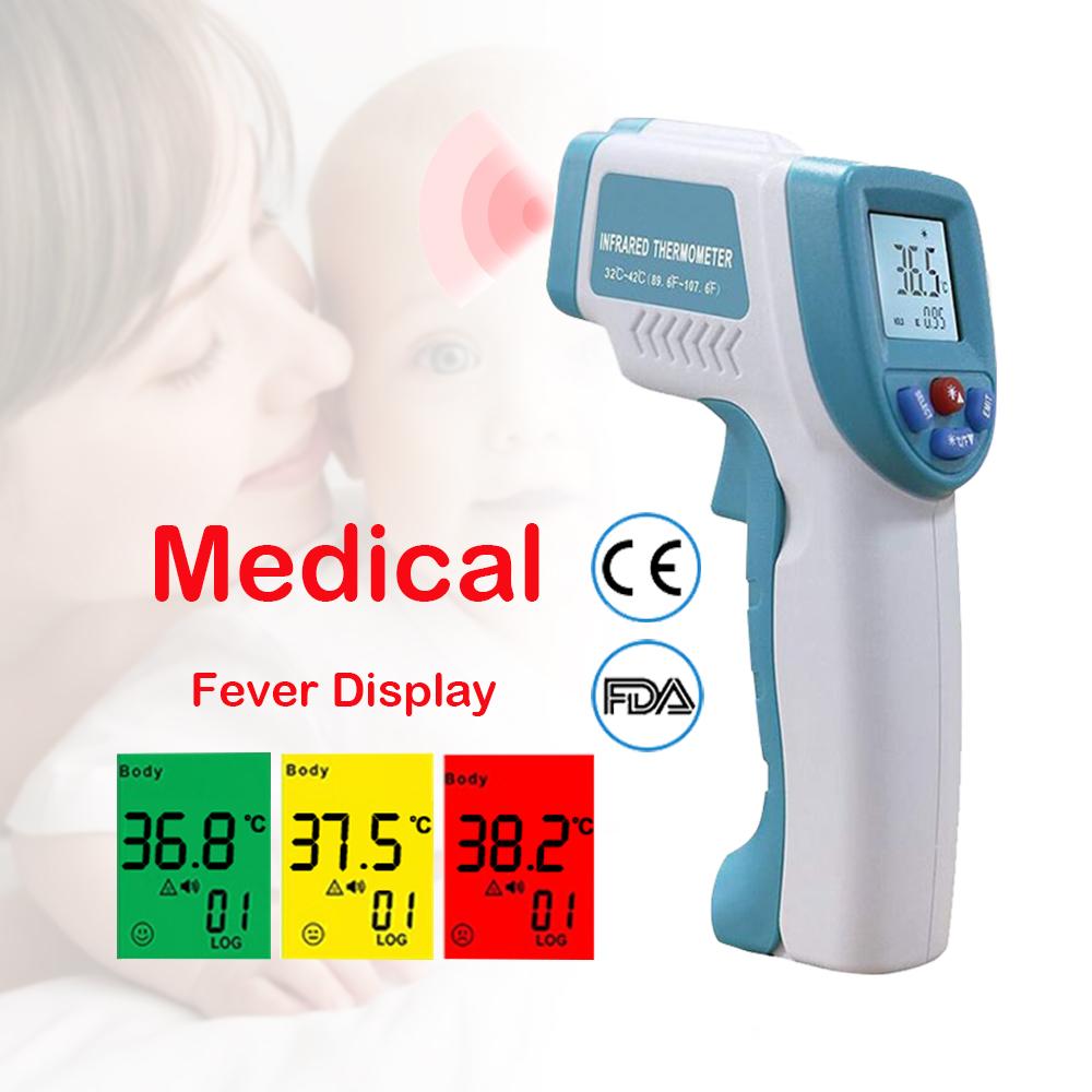 Laser Non Contact Temperature Gun Digital Body Infrared Thermometer Non-Contact / Thermometer Infrared - KingCare | KingCare.net