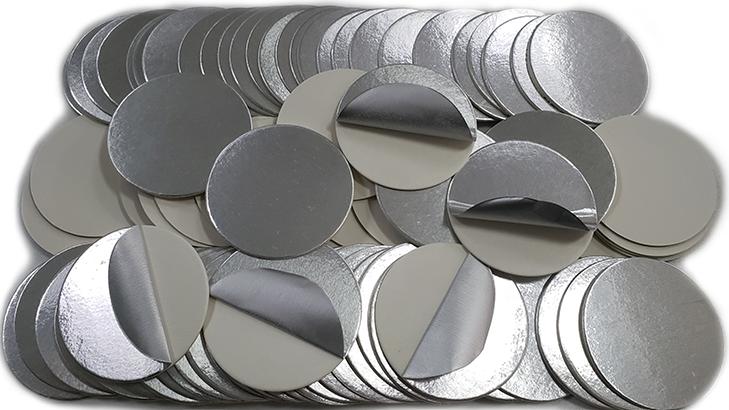 Professionnel D'induction Bouchon En Aluminium Feuille de Revêtement D'étanchéité