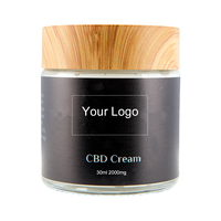 Natural Hemp Cream Private Label For Pain Relief