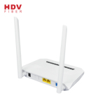 Fiber Optic Modem Modem Onu High Quality Fiber Optic Network Modem Gepon Gpon 1ge 1fe Xpon Wifi Onu With Rf