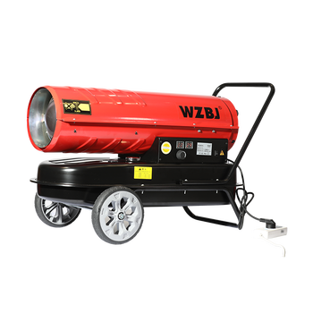 Indutry diesel space heater with wheels